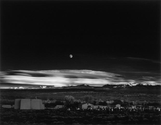 Moonrise Over Hernandez, New Mexico, 1941