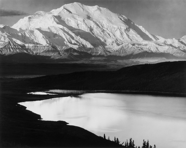 Mount Denali and Wonder Lake, Denali National Park, Alaska, 1948