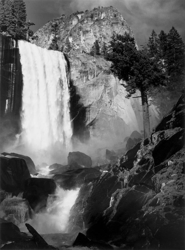 Vernal Fall, Yosemite Valley, California, ca 1948