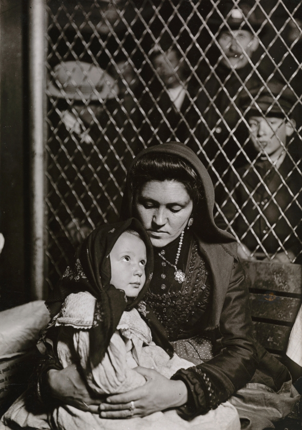 Lewis W. Hine, American, 1874 - 1940 (Artist); Italian Madonna,