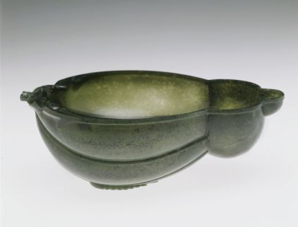 Image 10. AsianArtMuseum_Wine Cup in the Shape of a Turban Gourd